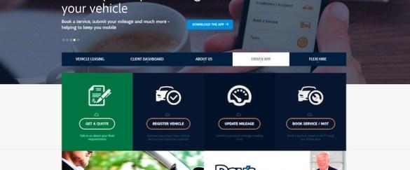 The new Days Fleet website