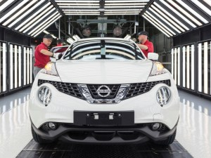 The UK's car manufacturing industry