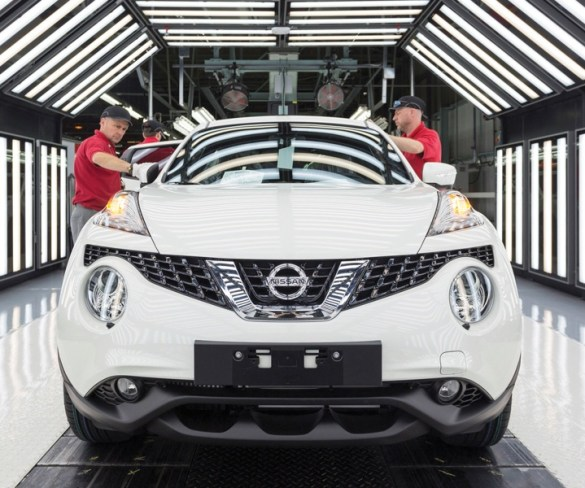 UK car production down 3% in 2017