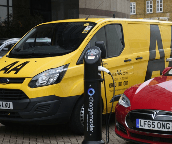 AA and Chargemaster team up for EV services