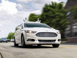 Ford is developing autonomous tech