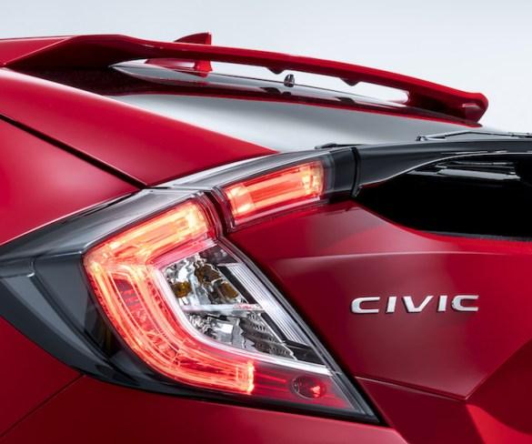 Honda teases Civic hatchback prior to Paris reveal