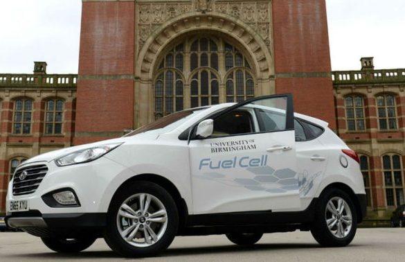 University of Birmingham and Lex Autolease to co-pilot ix35 Fuel Cell in MPG Marathon