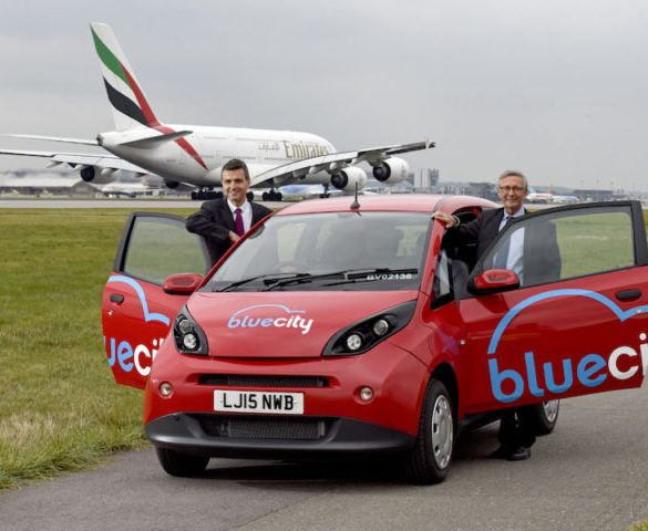 Electric car sharing service rolls out at Gatwick Airport
