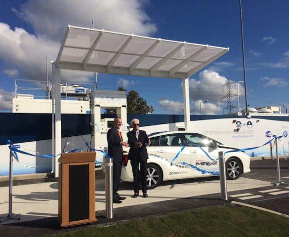 Solar hydrogen refuelling station opens in East London