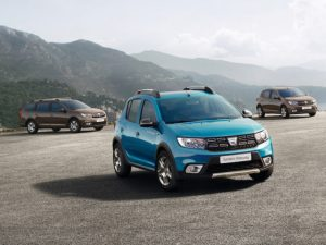 Refreshed Dacia models