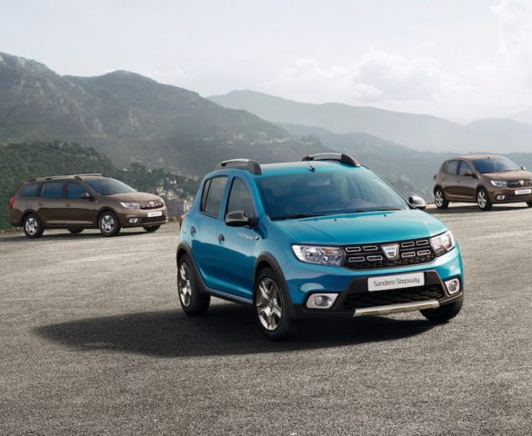 Facelifted Dacia line-up on sale now
