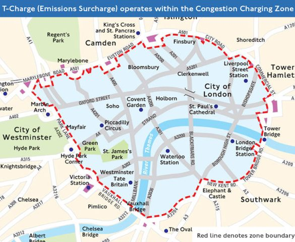'Toxicity Charge' to start in central London from October