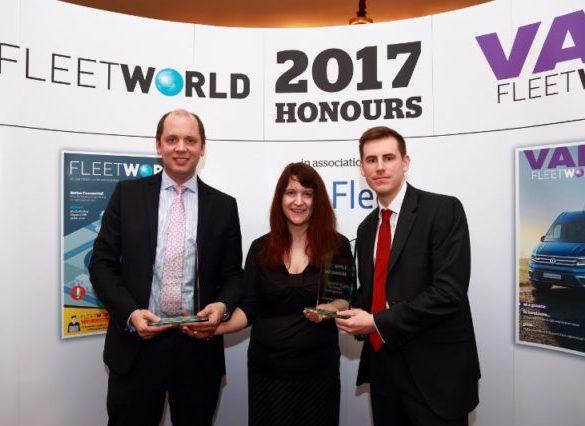 Fleet World Honours 2017: Innovation in Fuel Saving & Management – Ashwoods Lightfoot and Allianz