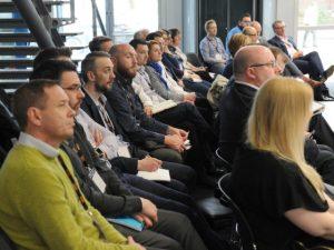 ICFM Masterclass delegates listen to the speakers