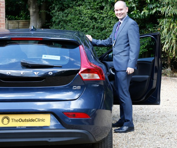 The Outside Clinic goes solus for Volvo fleet