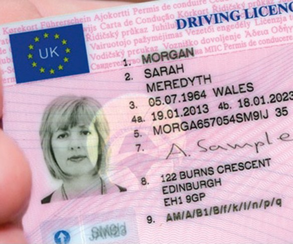 Drivers spent nearly £20m replacing licences in 2017