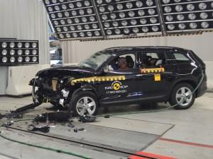 Crash tests on Skoda Kodiaq