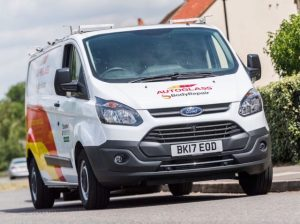 The new branding has been unveiled on the company's national fleet of vans and website.