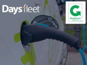 8% of Days Fleet's own company cars are classed as ULEVs – exceeding the Go Ultra Low Company requirement for companies to have a commitment for 5%.