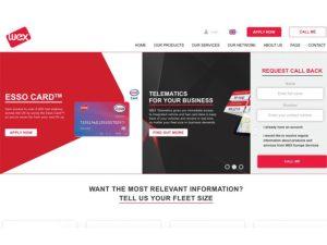 New WEX website