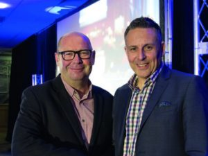 Cox Autmotive - L-R Michael Buxton CEO and Philip Nothard September 2017