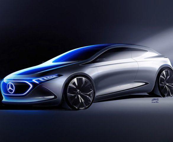 Mercedes hints at electric A-Class