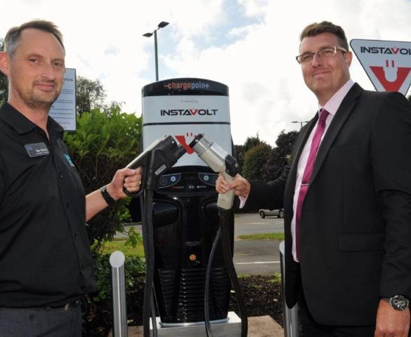 Devon gears up for EVs with free installation of rapid chargers