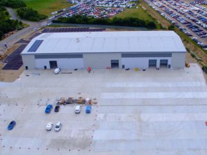 SMH on track for autumn opening of new £16m fleet centre