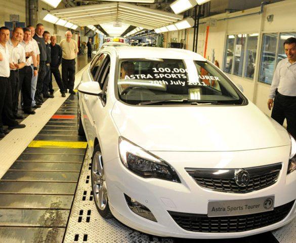 Declining Astra sales prompt job cuts at Ellesmere Port plant