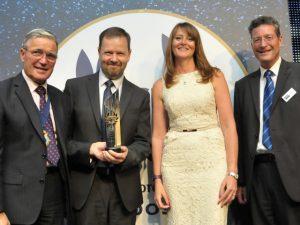 Phillips 66 Ltd Jet winning the 2017 Fleet Safety Trophy.