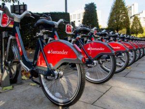 New Santander Cycles