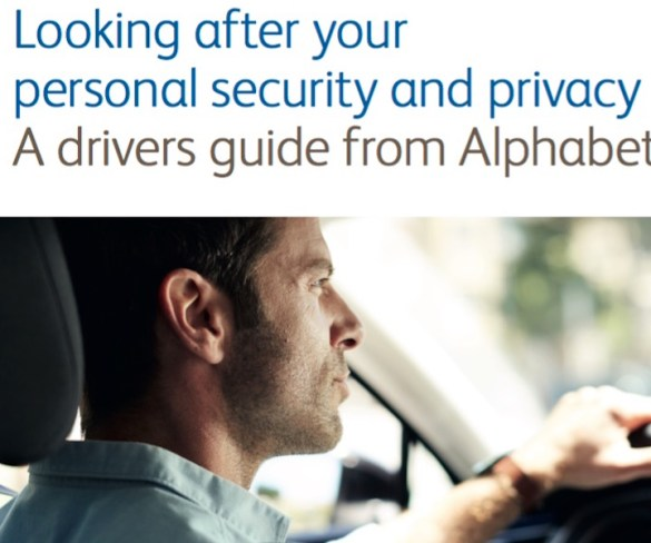 Alphabet publishes drivers guide on security and privacy