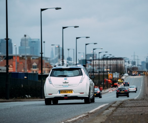 First autonomous cars due on UK roads in 2021