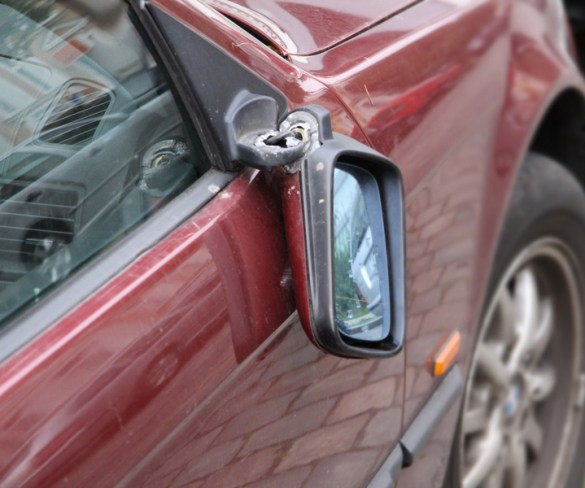 Vehicle vandalism jumps 10% in three years