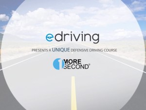 The 'One More Second' course looks to train fleets in defensive driving techniques