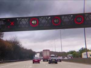 First phase of a new stretch of smart motorway opened between junction 16 and 19 on the M1