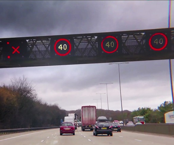 First phase of Midlands M1 smart motorway opens