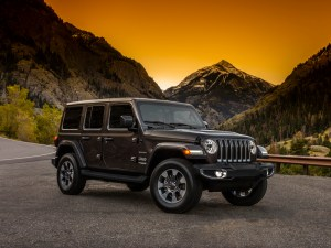 The all-new Jeep Wrangler will have a plug-in hybrid version in 2020