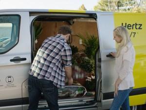 FordPass adds hourly van hire app with Hertz