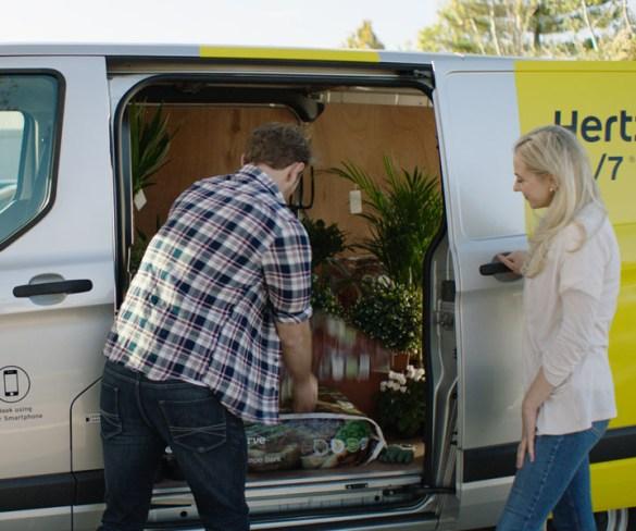 FordPass app adds Hertz 24/7 hourly van hire