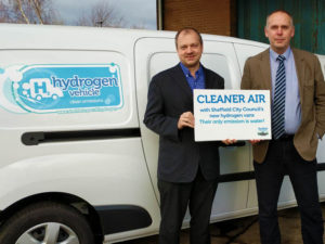 Sheffield City Council has taken delivery of five Renault Kangoo Z.E. converted to run on hydrogen