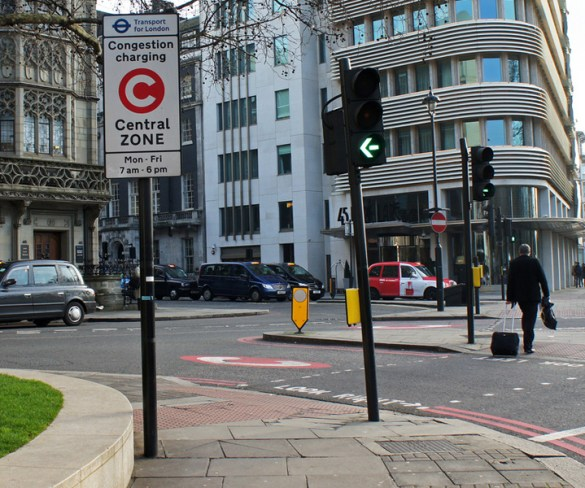 Congestion Charge fines to increase in New Year