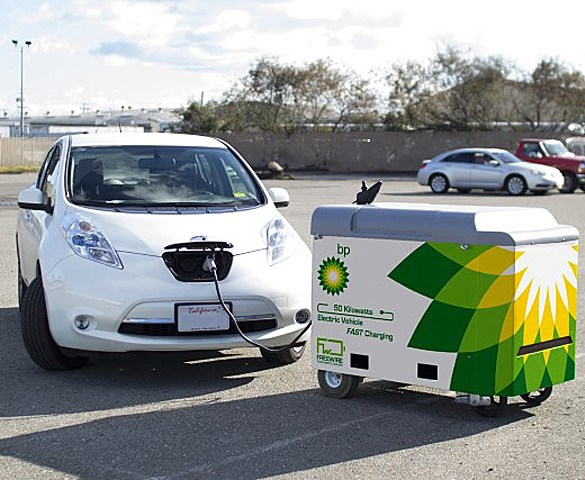 BP to roll out EV rapid chargers in Europe