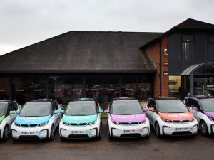 Six new BMW i3 electric cars have been bought by Taylor Made Computer Solutions