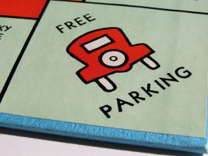 The average parking price in London (Trafalgar Square) was £40.25