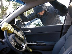 British police forces witnessed a rise in vehicle break-ins