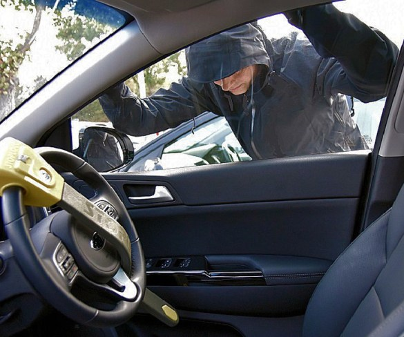 Vehicle break-ins on the rise