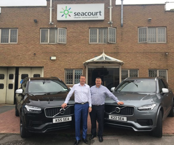 Europe's most sustainable printer chooses Volvo's XC90 T8 hybrid
