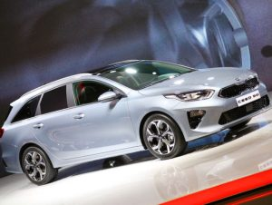 The Kia Ceed Sportswagon brings boot space of 600 litres with the seats up.