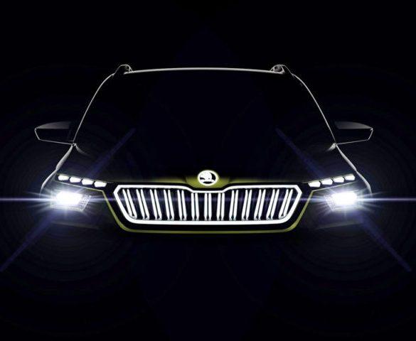 Škoda's Vision X concept displays CNG hybrid-electric drive