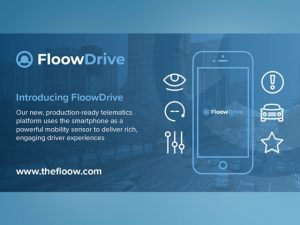 FloowDrive uses drivers' smartphones to capture data to encourage safer driving and lower insurance premiums