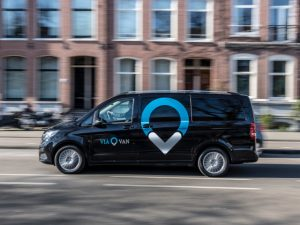 The service is powered by Via's dynamic ride-pooling technology, which was developed initially for New York City