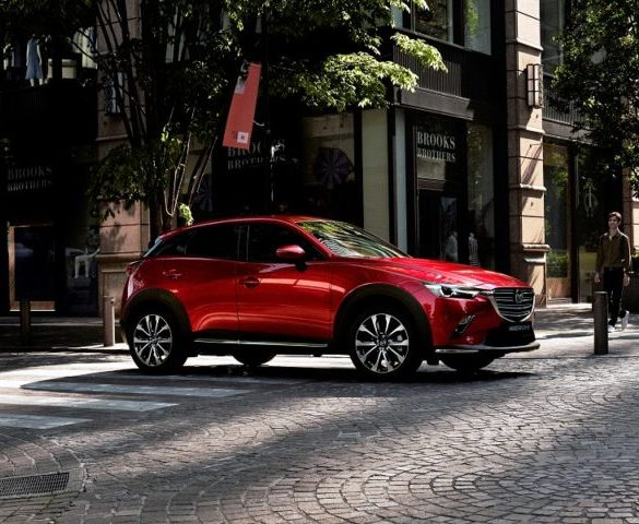 Mazda CX-3 updated for Euro 6d