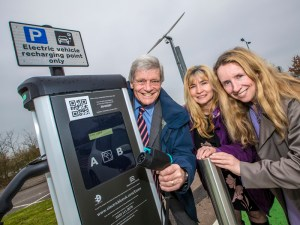Thanks to the new charge points at Sandon and Chelmer Valley Park and Ride, four cars can charge simultaneously at each location